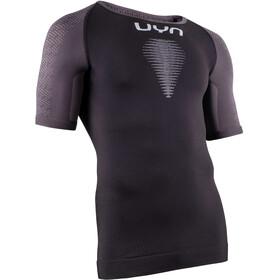 UYN Marathon OW SS Shirt Men blackboard/charcoal/white